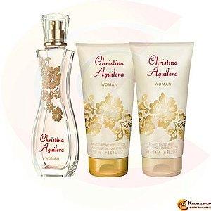 Perfume Feminino Edp 30ml + Gel de Banho 50ml + Hidratante 50ml - Christina Aguilera