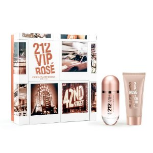 Kit 212 Vip Rosé Edp 80ml + Body Lotion 100ml
