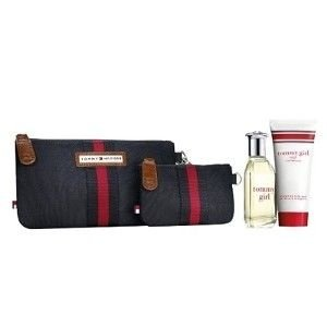 Kit Tommy Girl Feminino Edt 50ml + Gel de Banho 100ml + 2 Nécessaire