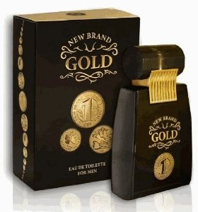 New Brand Gold For Men Eau de Toilette 100ml