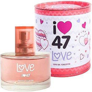 Perfume 47 Street Love Eau De Toilette Feminino