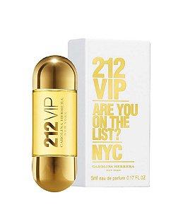 Miniatura Perfume 212 Vip Feminino Edp 5ml
