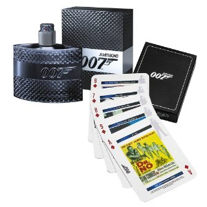 Perfume James Bond 007 Eau de Toilette + Playing Cards