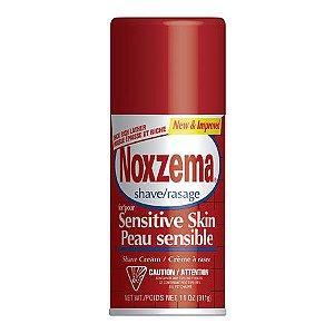 Noxzema Shave/Rasage Sensitive Skin Peau Sensible 311g.