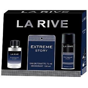 Kit La Rive Extreme Story Masculino EDT 75ml + Desodorante 150ml