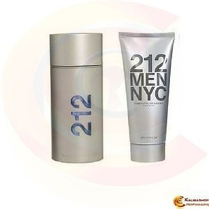 Perfume 212 Men Edt 100ml + After Shave Gel 100ml