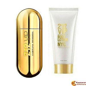 212 Vip Feminino Eau de Parfum 80 ml + Body Lotion 100 ml
