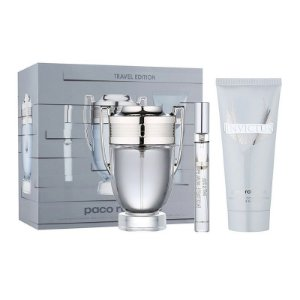 Kit Perfume Invictus Edt 100ml + Shampoo 100ml + Miniatura Edt 100ml masculino