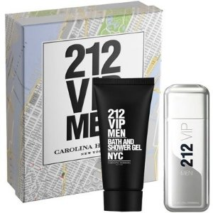 Kit Perfume 212 Vip Men EDT 100ml + Shower Gel 100ml Masculino