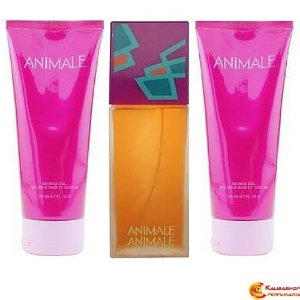 Animale Feminino Edp 100ml + Shower Gel 200ml +Body Lotion 200ml