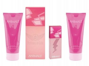 Animale Love Edp 100ml + Hidratante corporal 90ml + Gel de Banho 90ml + Animale Love 7,5ml