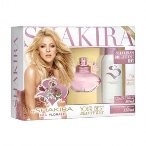 S BY Shakira Eau Florale Edt 80ml + Desodorante Spray 150ml