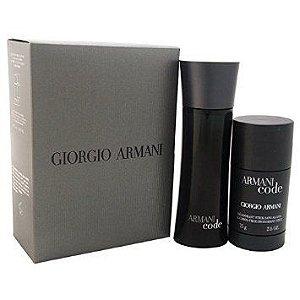 Kit Armani Code Edt 75ml + Deodorant Stick 75g - Giorgio Armani
