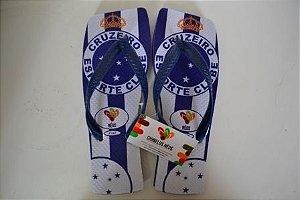 Chinelos Personalizados Cruzeiro