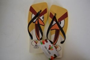 Chinelos Personalizados Angry Birds