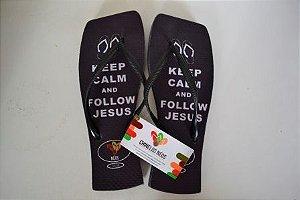 Keep Calm Siga Jesus