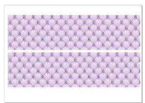 Faixa Capitoné lilás