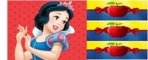 kit papel branca de neve e laterais