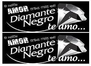 FAIXA NAMORADOS DIAMANTE 9CM