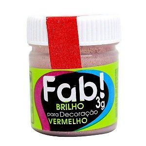 BRILHO DECORAÇÃO  VERMELHO FAB 3G