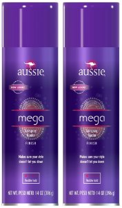 Aussie Mega Hairspray Fixador Finish