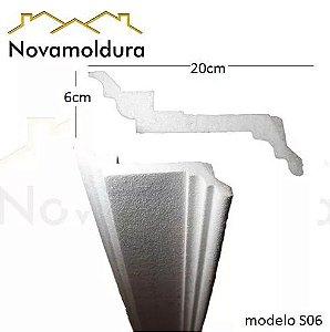 Moldura isopor modelo S06
