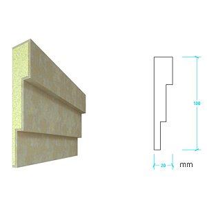 EPS com Revestimento modelo I107 - 100m de face ( valor por metro)