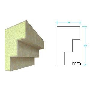 EPS com Revestimento modelo I111 - 100m de face ( valor por metro)