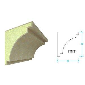 EPS com Revestimento modelo I115 - 90m de face ( valor por metro)