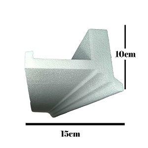 Sanca de isopor EPS - L01 sem acamento ( valor por metro)