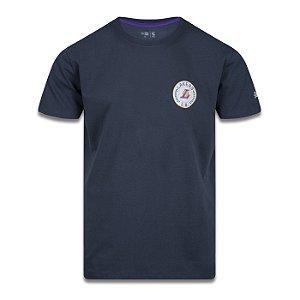 Camiseta New Era Los Angeles Lakers College Branch Chumbo