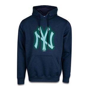 Moletom Canguru New Era New York Yankees MLB Space Glow