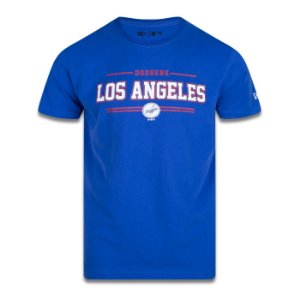 Camiseta New Era Los Angeles Dodgers MLB College City Azul