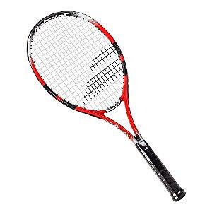 Raquete de Tenis Babolat Eagle Strung 275g Preto Vermelho