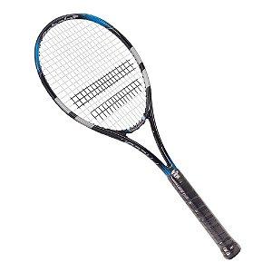 Raquete de Tenis Babolat Flacon Strung 280g Preto Azul