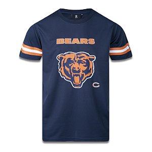 Camiseta Jersey New Era Chicago Bears NFL Tech Logo Azul