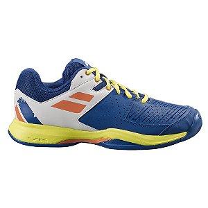 Tenis Babolat Pulsion All Court Masculino Azul e Amarelo