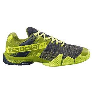 Tenis de Padel Babolat Movea Masculino Amarelo e Verde