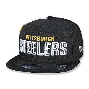 Boné New Era Pittsburgh Steelers 950 Draft Font Aba Reta