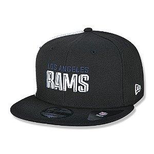 Boné New Era Los Angeles Rams 950 Draft Font Aba Reta