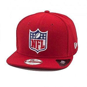 Boné NFL Basic Logo 950 Snapback Vermelho - New Era