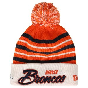 Gorro Touca Denver Broncos Snow Stripe - New Era