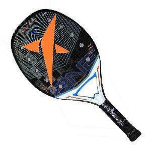 Raquete de Beach Tennis Drop Shot Premium 1.0 Carbono 24K