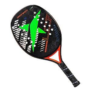 Raquete de Beach Tennis Drop Shot Premium PRO Fibra Carbono