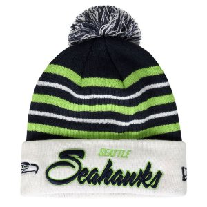 Gorro Touca Seattle Seahawks Snow Stripe - New Era