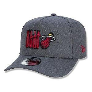 Boné New Era Miami Heat 940 A-Frame NBA Street Life Chumbo
