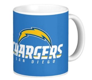 Caneca San Diego Chargers - NFL