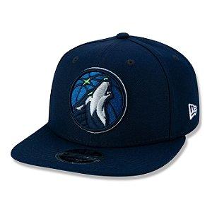 Boné New Era Minnesota Timberwolves 950 Primary MLB Aba Reta