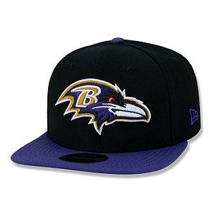 Boné New Era Baltimore Ravens 950 Classic Team NFL Aba Reta