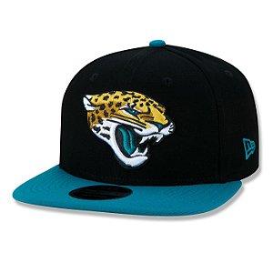 Boné New Era Jacksonville Jaguars 950 Classic Team Aba Reta